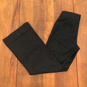 J. Crew Favorite Fit Wool Blend Pinstripe Pants